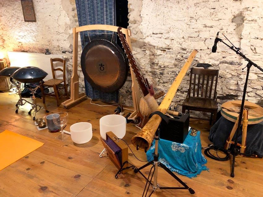 Instruments de musique de relaxation